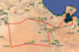 Carte d'excursion, Noel dans le desert Tunisien.JPG