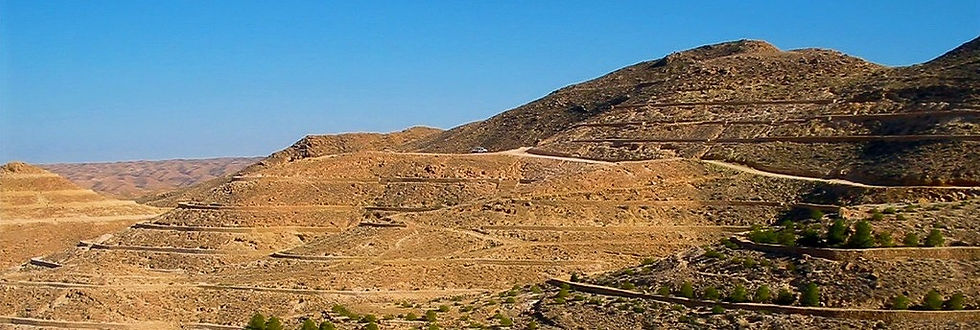Depuis Zarzis, Trek dans la région Berbère de Tunisie