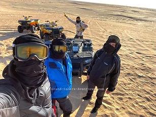 Raid en quad de Zarzis a Douz. Tunisie