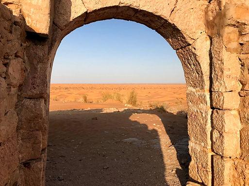 Ksar Ghilane, le fort de Tisavar.