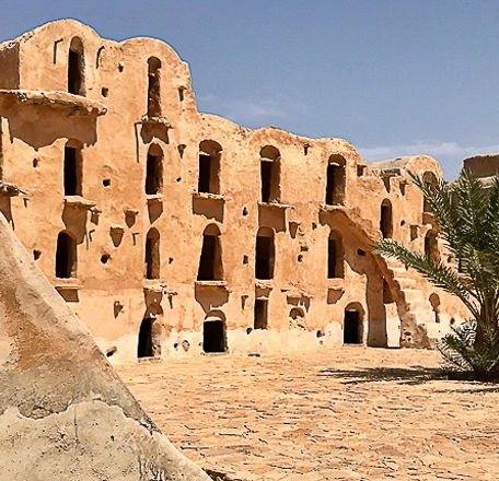 Circuit Star Wars, Ksar Ouled Soltane. Tunisie