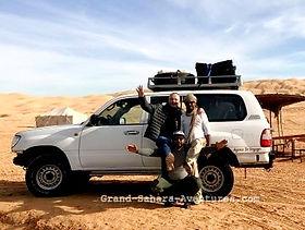 L'équipe de Grand Sahara Aventures