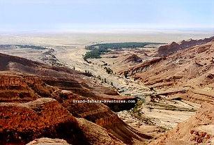 Excursion Oasis de montagne. Zarzis à Tozeur. Tunisie.