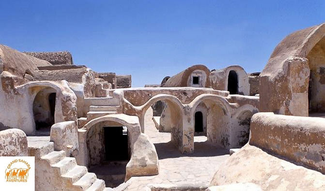 Star Wars Tunisie de Gabes.