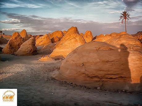 Les Dunes pétrifiées. Douz.
