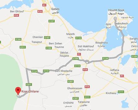 Excursion Djerba Ksar Ghilane. Map.JPG