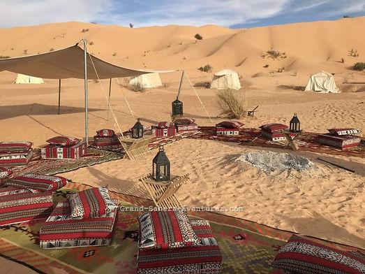 Réveillon de la Saint Sylvestre dans le désert Tunisien