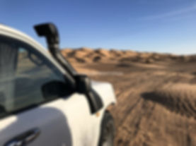 Le 4X4 dans le désert Tunisien, depuis Zarzis. jpg