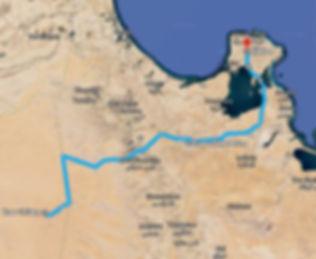 Carte d'excursion quad et dromadaire a Ksar ghilane de djerba tunisie.jpg