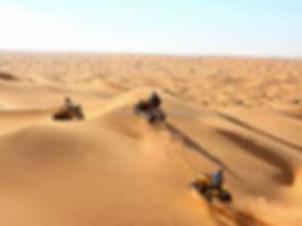 Zarzis, Quad dans le désert à Douz. jpg