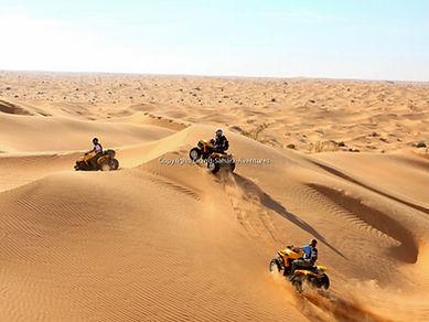 Excursion Quad dans le désert à Tozeur.