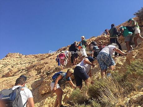 Randonnée Trek à Douiret et Chenini, départ de Djerba Tunisie