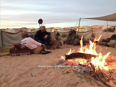 Réveillon du nouvel an dans le désert Tunisien au départ de Djerba