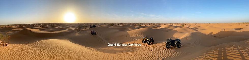Excursion Quad dans le désert de Gabes à Douz.