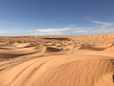 Circuit désert Tunisien