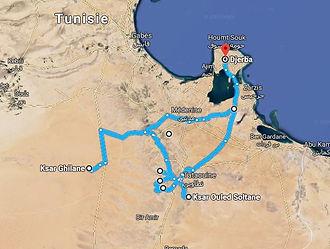 Carte de l'excursion trek a Tataouine et désert Ksar Ghilane.jpg