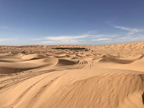 Circuit 4X4 dans le désert du Sahara le lac Houidath Erreched