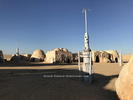 Mos Espa Star Wars Tozeur. Tunisie