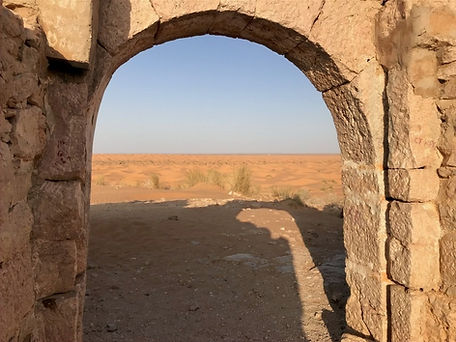 Le fort de Tisavar à Ksar Ghilane Tunisie