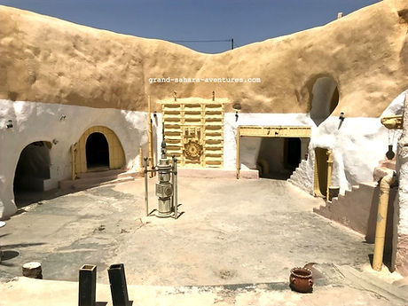 Matmata Star Wars Tunisie. Maison de l'oncle Owen