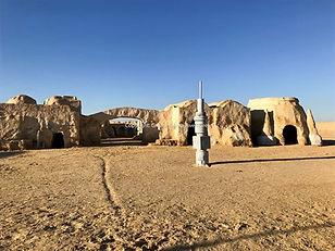 Circuit Star Wars à Mos Espa sur Tatooine. Tunisie