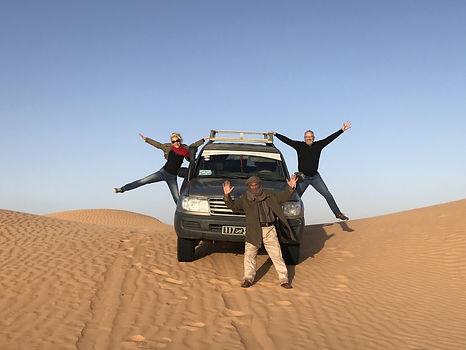 Cicuit en 4X4 dans le désert tunisien
