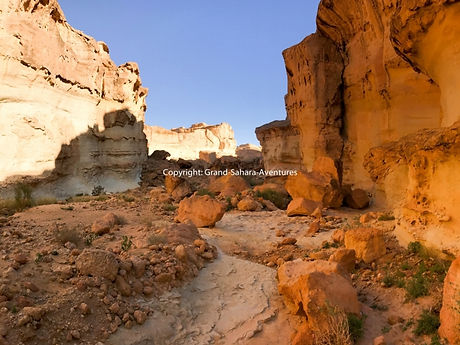 Sidi Bouhlel, Canyon de Star wars Tunisie.