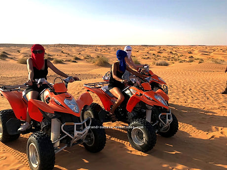 Excursion Quad à Ksar Ghilane Tunisie