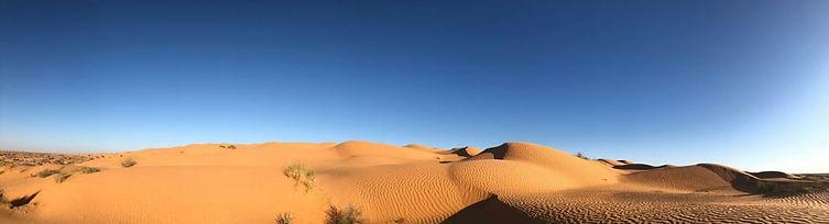 Le désert Tunisien