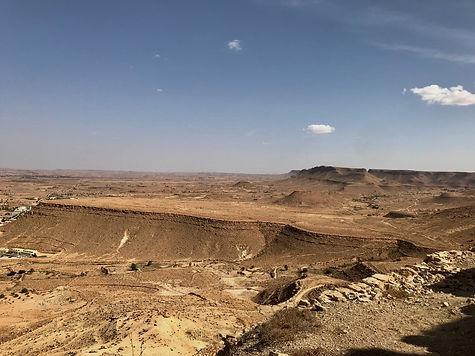 Paysage de l'excursion de Gabes à Tataouine Tunisie