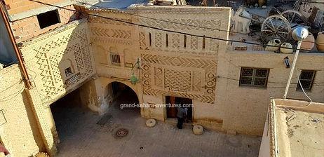 De Djerba  à Tozeur, la médina de Tozeur. jpg