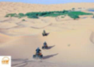 Excursion quad et dromadaire. Depuis Djerba a l'Oasis de Ksar Ghilane dans le desert tunisien. Grand-Sahara-Aventures.jpg