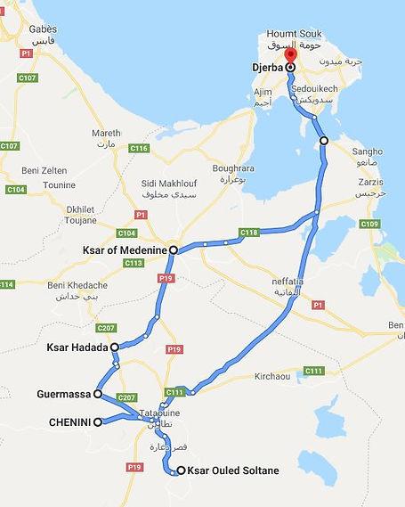 Djerba  Star Wars Tunisie. Map.JPG