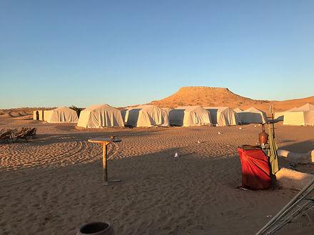Campement de la montagne Tembaine, circuit en Quad depuis Zarzis.