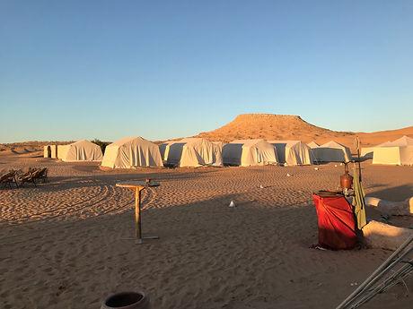 Circuit quad dans le désert Tunisien