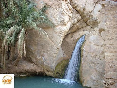 Cascade de Tamerza, Tozeur Tunisie