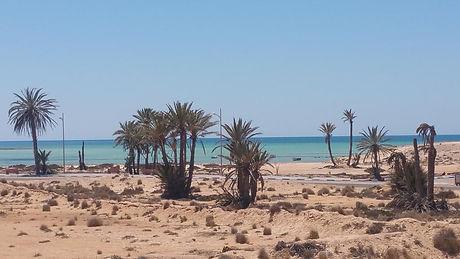 Plage du dar Chick Yahia de Djerba