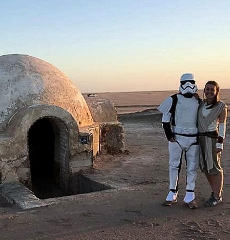 Igloo, la maison d'Anakin. Star Wars Tunisie.