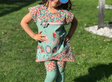 Zuckerfest-Outfit meiner Tochter