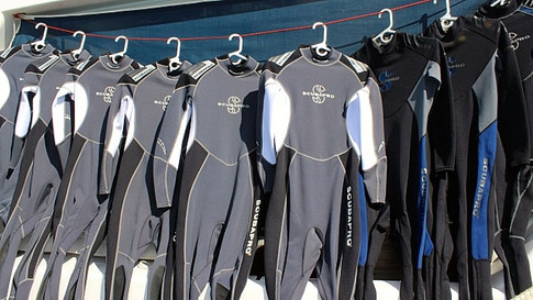 Wetsuits - all sizes