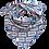 "Thumbnail: Couture Designer Dreiecks-Tuch ""love"" - limitiert"