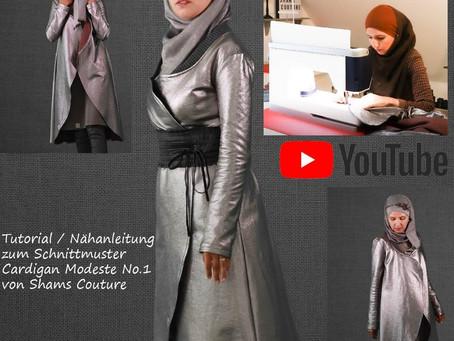 Cardigan Modeste No.1 - Mein erstes Modest Fashion Schnittmuster