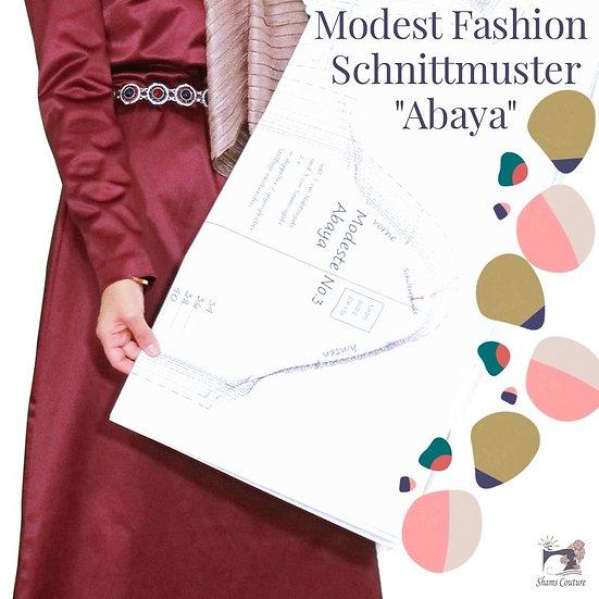 eBook Abaya / Maxikleid Modeste No.3 Gr. 34 - 54