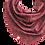 "Thumbnail: Couture Designer Dreiecks-XXL-Tuch ""Bordeaux"" - limitiert"