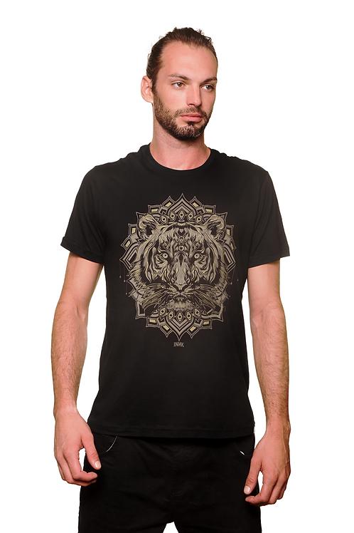 Camiseta Leão Preta