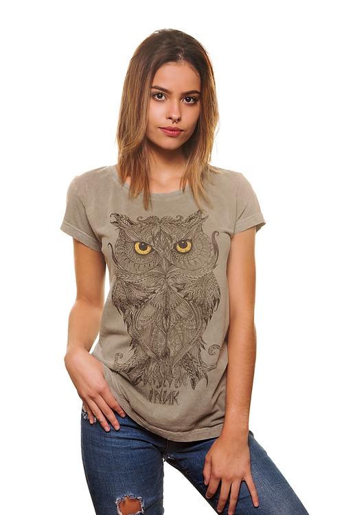 T-shirt Estonada Coruja