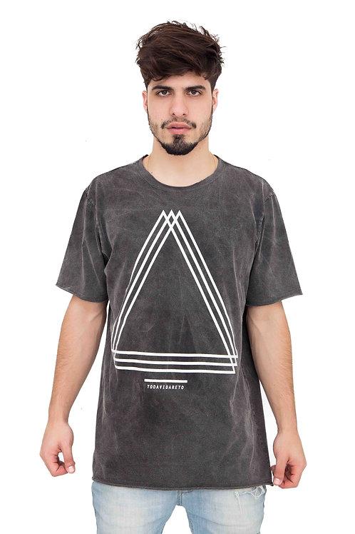 Camiseta Estonada  Triângulos