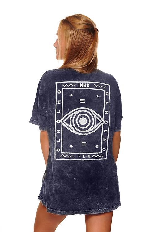 Camiseta Olholhó Azul Estonada