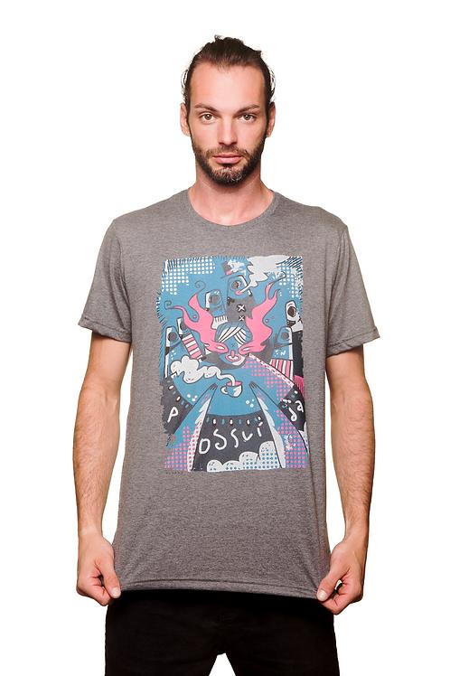 Camiseta Possuída Mescla
