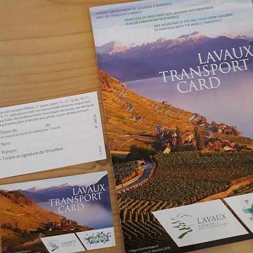 Lavaux Tranport Card